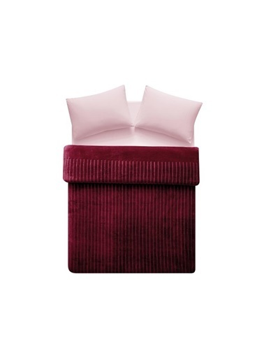 Linens Windy Battaniye Bordo